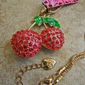 Betsy Johnson 🍒 cherry charm